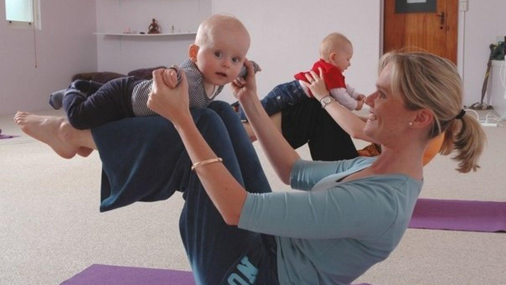 Как заниматься спортом с ребенком фото